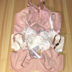 Victoria Secret Dream Angel bras Bundle 3 34D